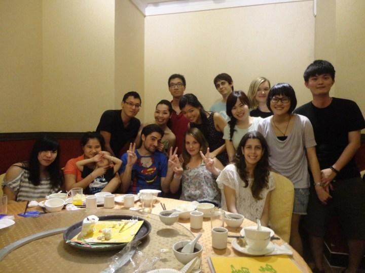 Guangzhou Friends Dinner