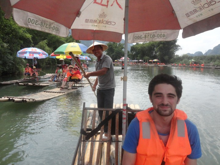 Yangshuo Bamboo Raft