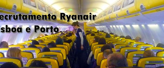 Recrutamento Ryanair Portugal