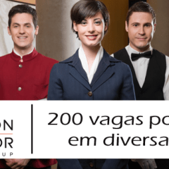 O Carlson Rezidor Hotel Group tem 250 vagas de emprego