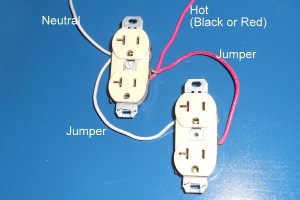 Wiring 2 Gang Outlet Box car block wiring diagram