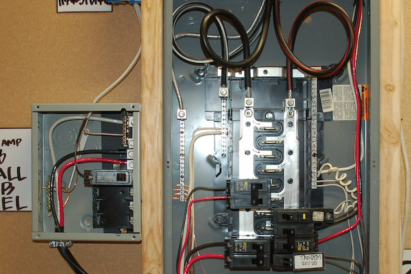 100 Amp Detached Sub Panel Wiring Diagram Adding A Circuit Breaker To Your Storage Shed Electrical Panel
