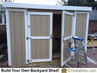 Shed Doors & Exterior Barn Door Hardware Design Sliding ...
