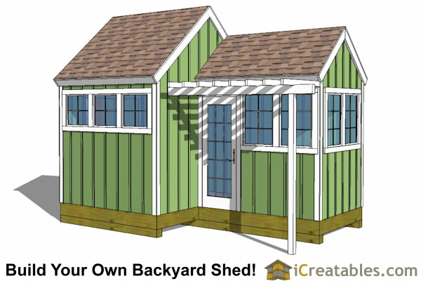Greenhouse Shed Plans - Easy to Use DIY Greenhouse Designs