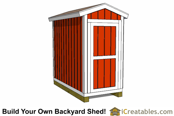 SaveEnlarge · Basic Storage Shed ...  sc 1 st  Listitdallas & 4 X 8 Storage Shed Plans - Listitdallas