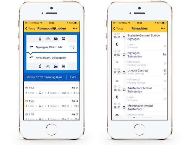 NS Reisplanner-app toont ook bussen en trams - iCreate Magazine