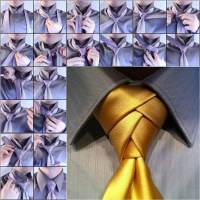 How to Tie a Unique Necktie Knot DIY Tutorial