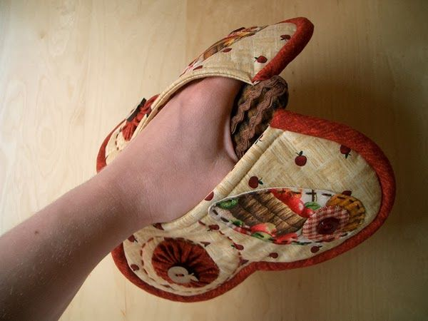 How To Diy Butterfly Potholder