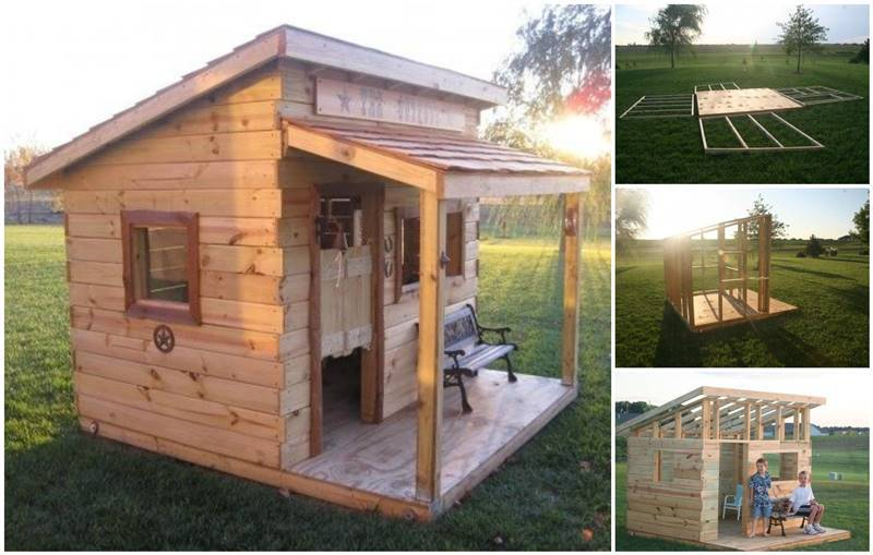Creative Ideas Build A Diy Western Saloon Kids Fort