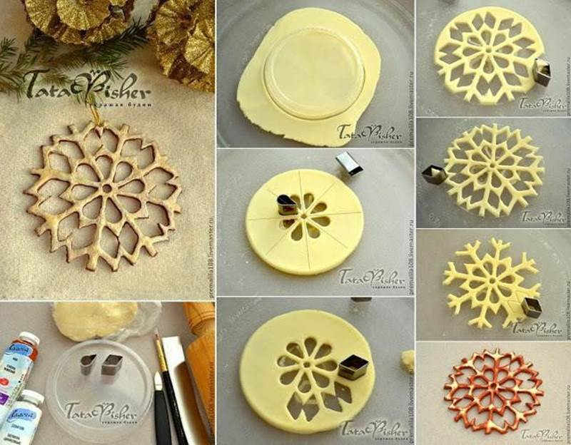 make your own ornaments from dough