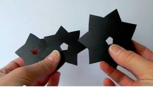 how to make flower with paper ribbon