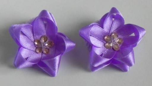 How To Diy Easy Ribbon Flower Bow