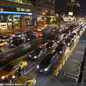 Traffic Index Puts Taipei Among Most Congested in World