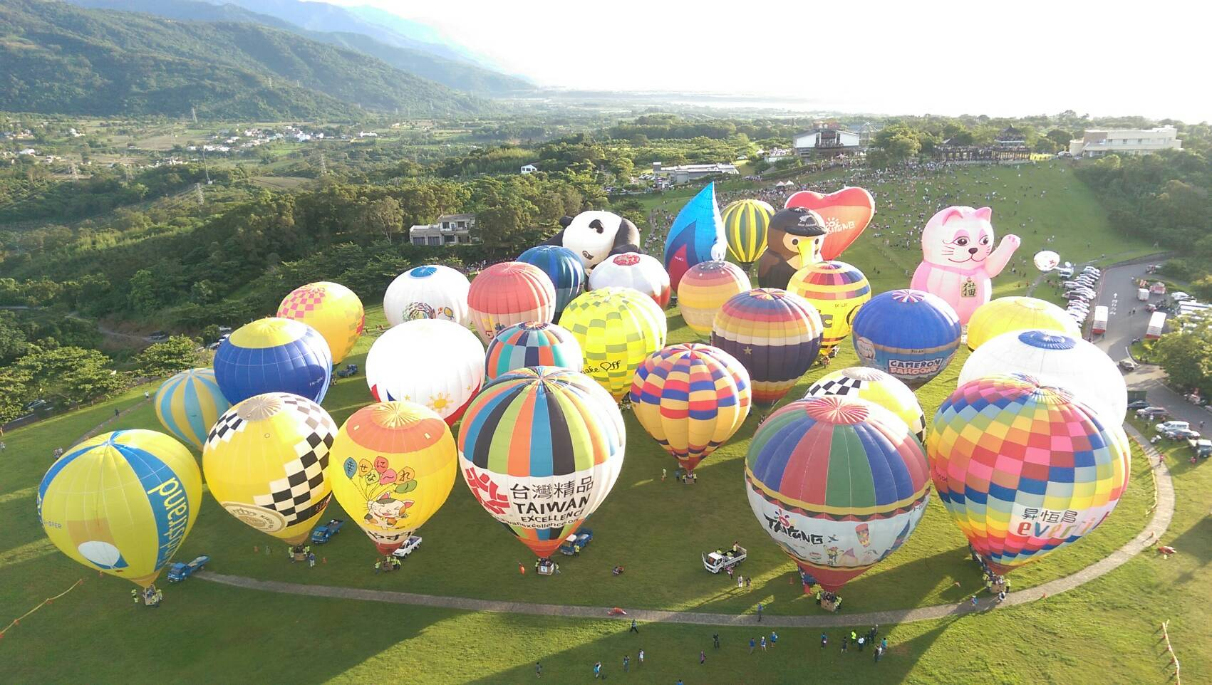 Taiwan International Balloon Festival Taitung