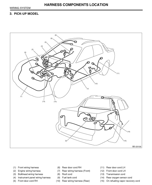 Subaru Baja Wiring Diagram - Wiring Diagrams