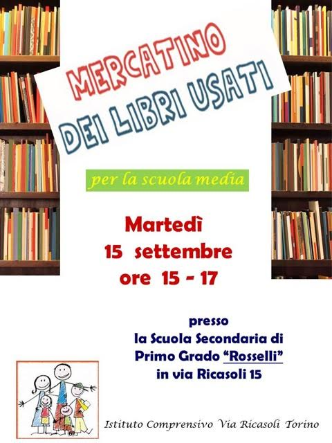 locandina mercato libri