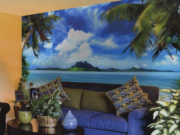 Wallpaper For Living Room 3d Design Salone Aggiungi Un Tocco Di Natura Nel Tuo Salone