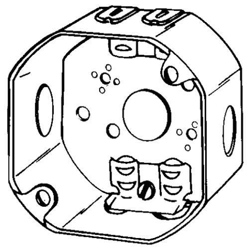 wiring octagon box home