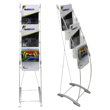 Brochure Stand Smart - ideal displays - brochure stand