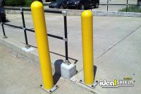 Steel Pipe Bollards | Ideal Shield