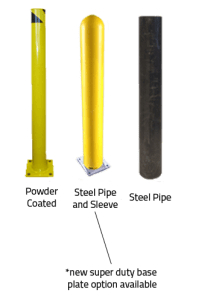 Steel Pipe Bollards Made In USA