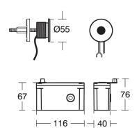 Sensorflow 21 Electronic Shower Valve & Sensor   Mixers ...