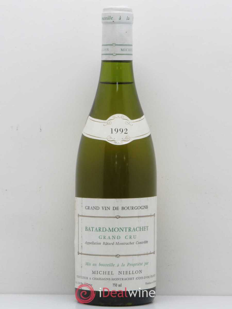 Bâtard-Montrachet Grand Cru Michel Niellon (Domaine) 1992 - Lot of 1 Bottle