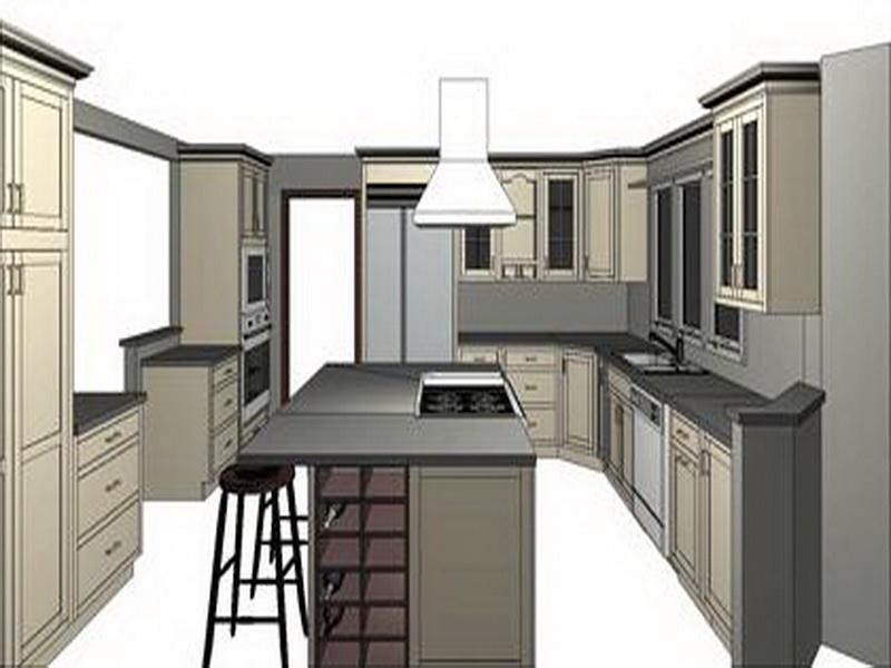 Cool Free Kitchen Planning Software Making the Designing Phase - virtual kitchen designer free