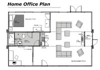 Modern Home Office Floor Plans for a Comfortable Home ...