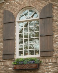 Wonderful Exterior Window Shutters to Enhance the ...