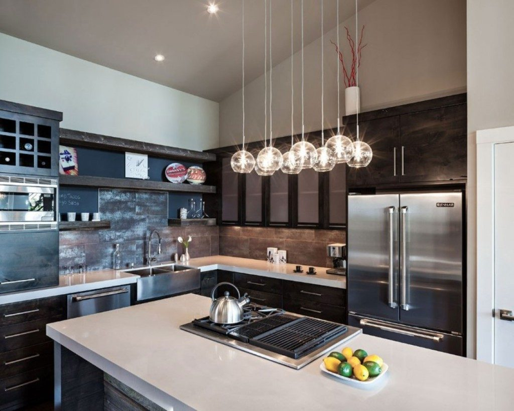 Marvelous Lowes Lamps in Kitchen Ceiling Lights Design to Enlight Contemporary Kitchen 1024x819