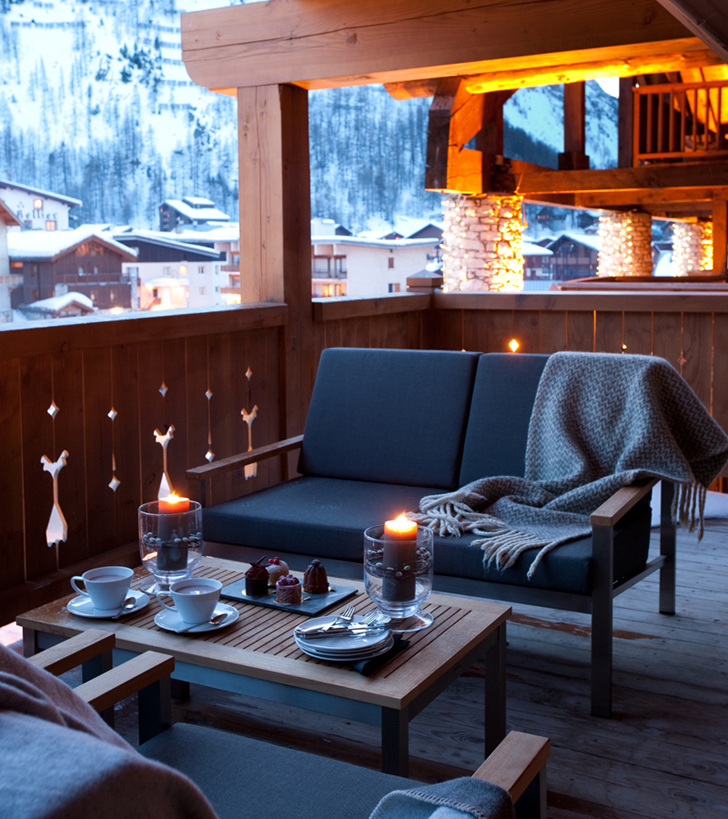 Stylish Chalet in the Alps