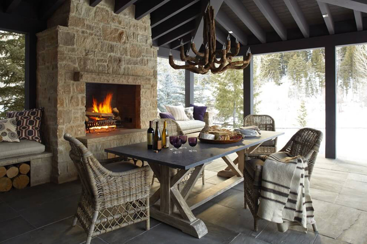 Mountain Chalet in Idaho