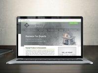 Tax Accountant Website Design  IDEASEAT