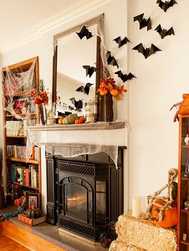 Cute Halloween Bat Wallpaper 5 Ideas Para Una Decoraci 243 N Casera De Halloween Ideas