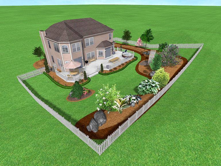 Free landscape design planner ~ Garden ideas