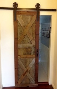 Awesome and Lovely Pallet Door Ideas | Ideas with Pallets