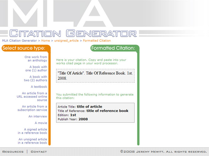 annotated bibliography apa citation machine Use bibliography makers, a free, easy-to-use, apa citation generator, to build a correctly-formatted references page with all sources cited in your paper.