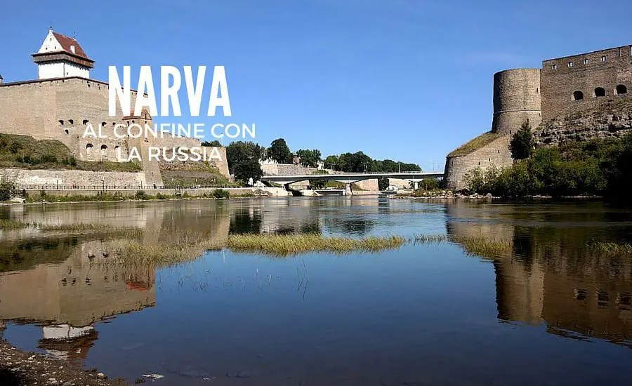 narva estonia confine