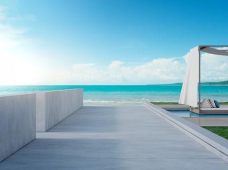 Prix d\u0027une terrasse béton - Guide prix terrasses  Idéesmaison - Prix D Une Terrasse Beton