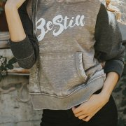 Christian Graphic Hoodie – Be Still
