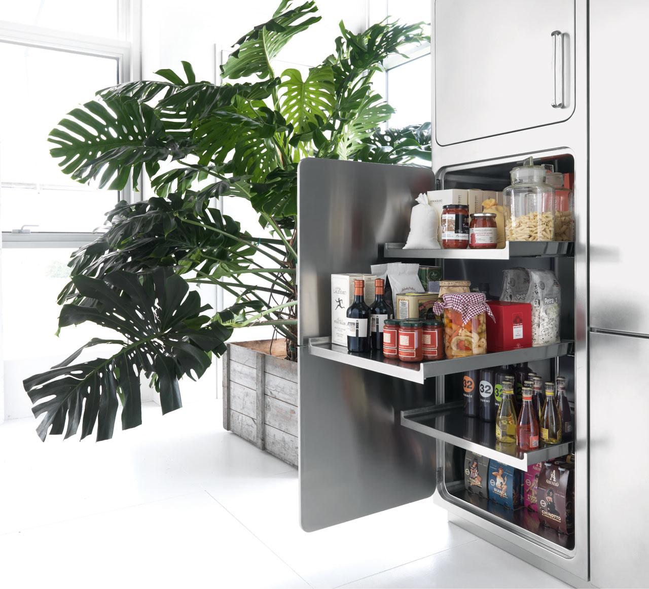 italian designed ergonomic and hygienic stainless steel kitchen stainless steel kitchen cabinets Stainless Steel Kitchen Cabinets