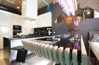 Cool Modern Kitchen Ideal For Entertaining | iDesignArch ...