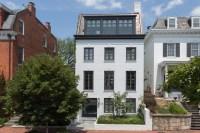 Impeccable Modern Townhouse In Georgetown With Glass ...