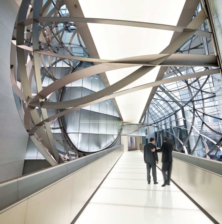 Deutsche Bank Steel Sphere In Frankfurt Idesignarch
