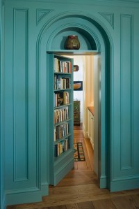 Hidden Door Bookshelf | iDesignArch | Interior Design ...
