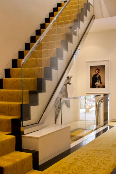 Manhattan Triplex Interior Design By Jonathan Adler   iDesignArch   Interior Design ...