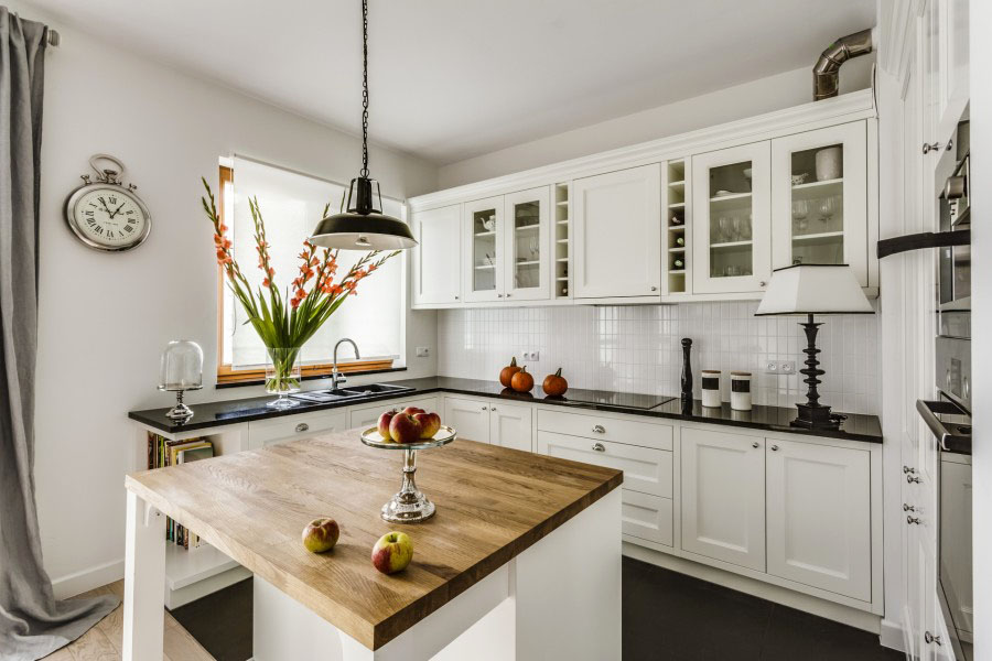 The Elegant Simplicity Of A Timeless Contemporary White Kitchen - timeless kitchen design
