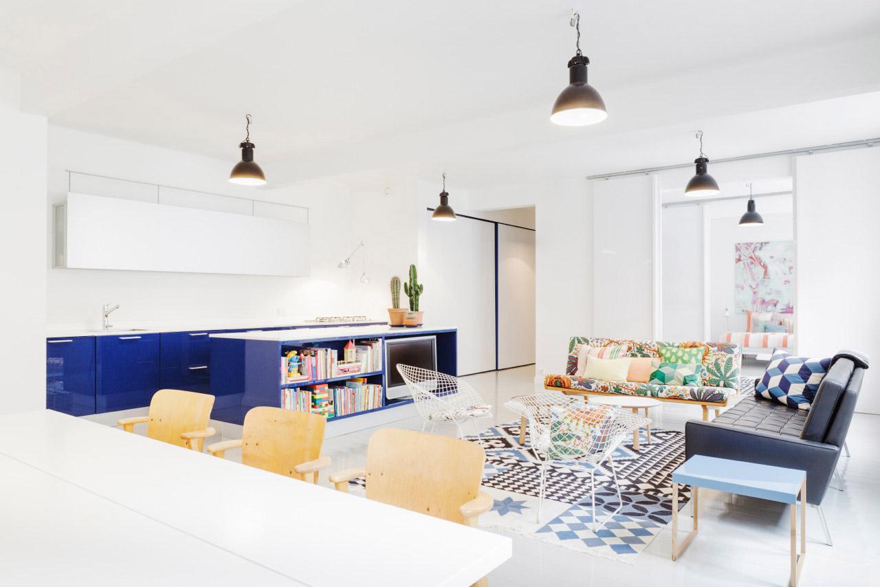 Exquisite scandinavian apartment interiors
