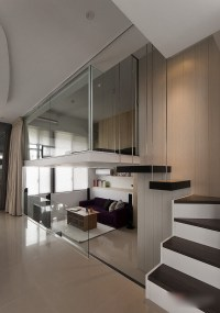 Modern-Small-Apartment-With-Loft-Bedroom_2
